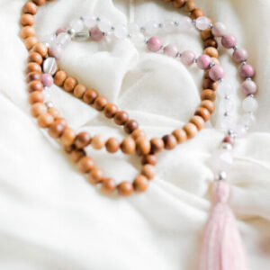 love and healing mala necklace